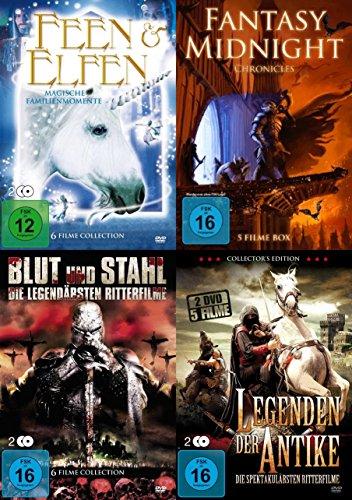 22 FANTASY FILME PAKET - Die Welt der Sagen Mythen Fabelwesen und der Antike - RITTER * DRACHEN * ZAUBERER * ELFEN * FEEN * TROLLE DVD Edition