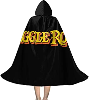 Fraggle Rock, Trucker Cap Unisex Hooded Cloak Cape Halloween Party Decoration Role Cosplay Costumes Black