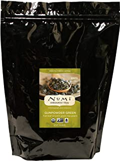Numi Organic Tea Gunpowder Green, 16 Ounce Pouch, Loose Leaf Tea (Packaging May Vary)