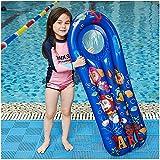 HBIAO Ligne de Planche de Surf Gonflable, Anneau de Natation de Jouets flottants pour Enfants pour Support de Plage de Piscine Livraison directe de 3 à 10 Ans