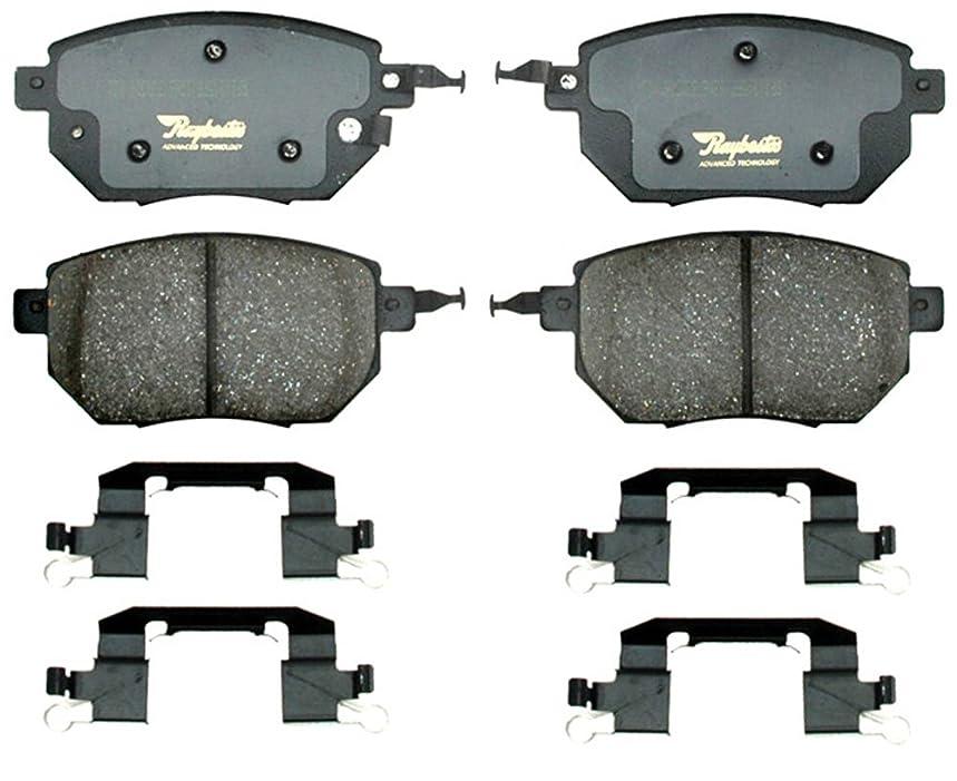 Raybestos ATD969C Advanced Technology Ceramic Disc Brake Pad Set