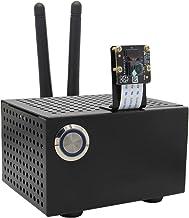Geekworm Jetson Nano用金属ケース、電源コントロールスイッチ/リセットスイッチが付き、NVIDIA JETSON NANO & JETSON XAVIER NX 開発キットに適用