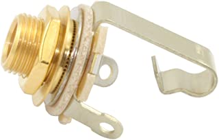 Switchcraft 11 Gold 1/4-Inch Electric Guitar Input Jack
