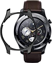 Case Compatible with Huawei Watch 2 Classic / 2 Pro Cover, Soft TPU Plated [Scratch-Proof] All-Around Protective Bumper Shell (Black)
