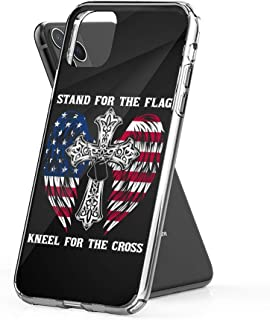 Case Phone I Stand for The Flag and Kneel Cross (5.8-inch Diagonal Compatible with iPhone 11 Pro)