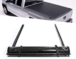 Soft Vinyl Roll-Up Truck Cargo Bed Tonneau Cover Black for 1997-2003 Ford F150 Standard Short Bed 6.5 FT
