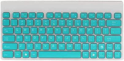 Fusanadarn Ultrad nne stummgeschaltete kabellose Tastatur und Maus f r Laptop  Color Blue