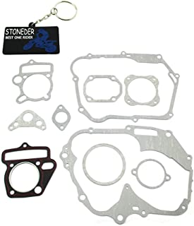 stoneder Kit de juntas para China 4 Tiempos 125 Cc Lifan motor SSR Piranha SDG Pit Dirt Bike/chino 125 cc 4 tiempos motor Horizontal (Kick Start sólo) no fit 54 mm cilindro Bore Motor