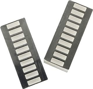 Magic&shell LED Light Bar 2PCS 10 Segment 3 Colour Graph Display LED Battery Bar