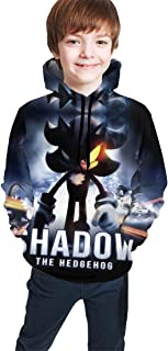 Youth Boys Girls 3D Printed Hoodie Spring Hooded Sportswear Pullover Top