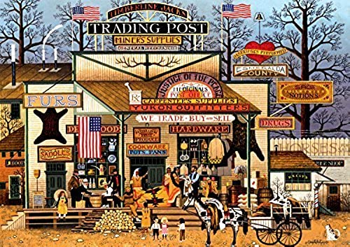 Buffalo Games Charles Wysocki  Timberline Jack's Large Jigsaw Puzzle (300 Piece) by Buffalo Games