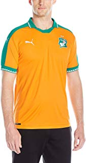 PUMA Men's Ivory Coast Home Replica Shirt
