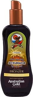 Australian Gold Accelerator Spray Gel With Bronzer 8 Ounce (237ml) (2 Pack)