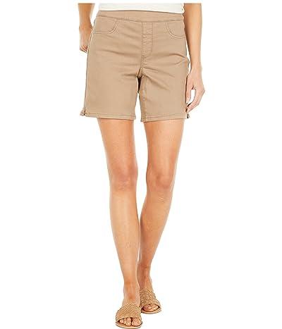 NYDJ Pull-On Shorts w/ Sideseams Slit