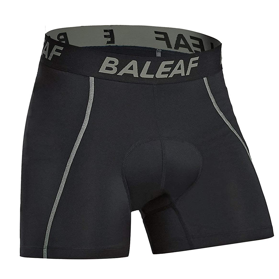 Baleaf Men's 3D Padded Bike Bicycle MTB Cycling Underwear Shorts