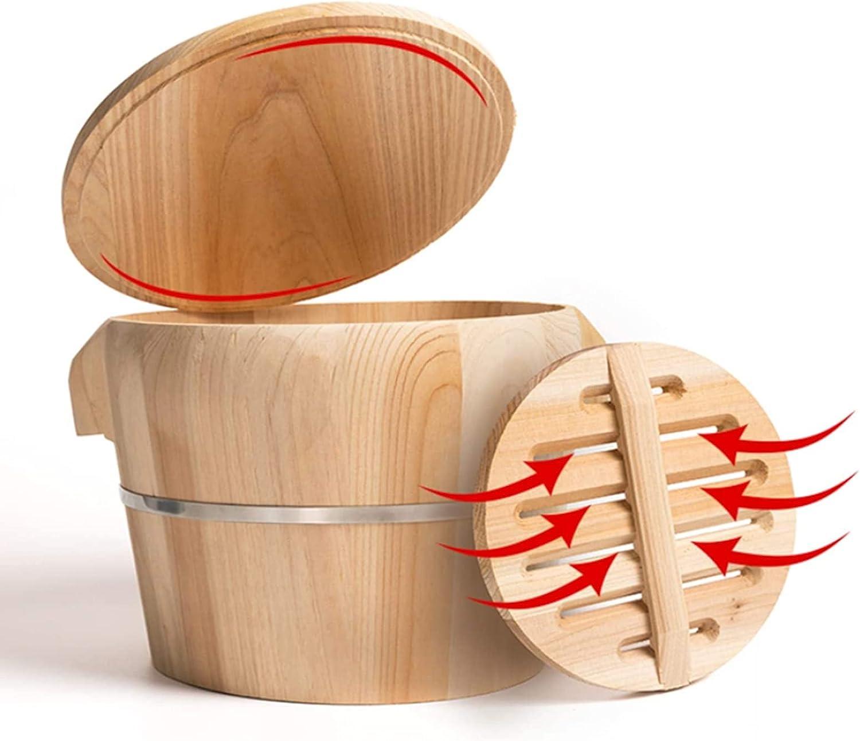 Popular TYRHMY Hangiri Sushi Oke Rice Wooden Mixing OFFicial shop Tub