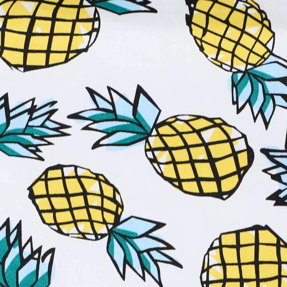 TieMart Pineapple Cotton Bow Tie