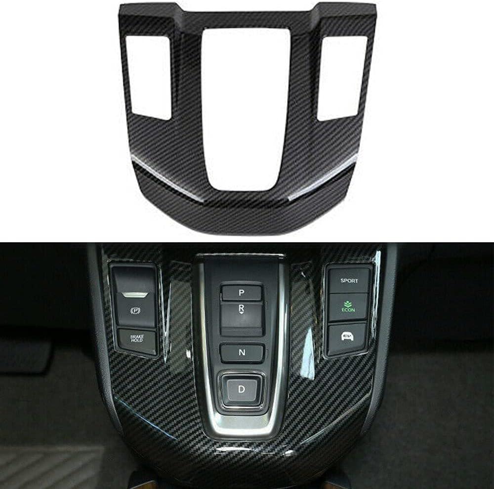 Arlington Mall LEXLEY Carbon Fiber Style Gear Shift C Frame Trims Console Panel Branded goods