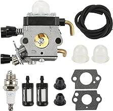 Harbot Carburetor with Fuel Line Repower Kit for STIHL FH75 HL75 HT75 HT70 FS75 FS74 FS76 FS80 FS80R FS85 FS85R FS85T FS85RX KM85 FC75 FC85 HS80 HS85 SP80 SP85 String Trimmer Edger