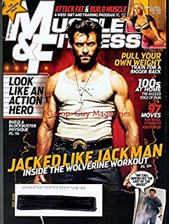 Muscle & Fitness July 2009 Hugh Jackman Hollywood Issue