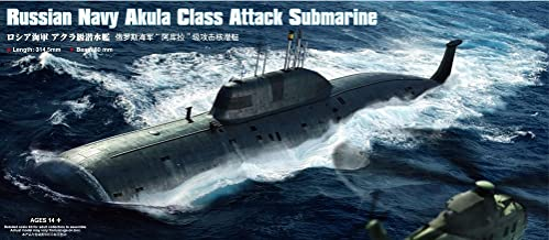 Hobby Boss Russian Akula Class Attack Submarine Model Building Kit