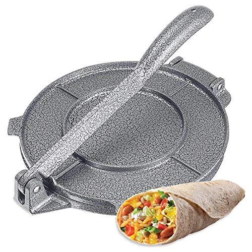 8 Pulgadas Tortilla Press Maker Aluminio Prensa De Tortillas Electrica Inoxidable Tortillero...