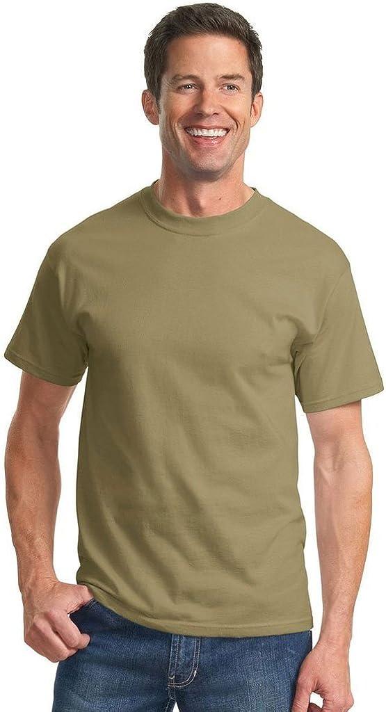 Port & Company Tall Essential T-Shirt-4XLT (Dusty Brown)