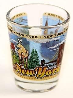 New York State Wraparound Shot Glass