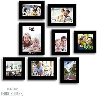Art street Octad Set of Photo Wall Frame - Set of 8 Individual Photo Frames