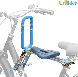 comprar comparacion UrRider Asiento de Bicicleta para niños con Montaje Frontal, Asiento de Bicicleta para niños, Plegable y Ultraligero para ...