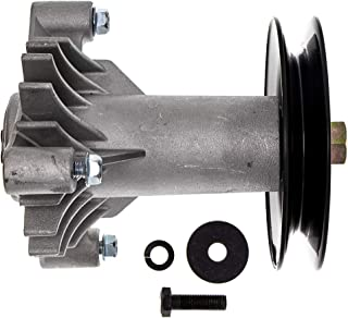 8TEN Spindle Assembly with Pulley for Husqvarna Craftsman Poulan 38 Inch 42 Inch Deck 130794 532130794 582922301