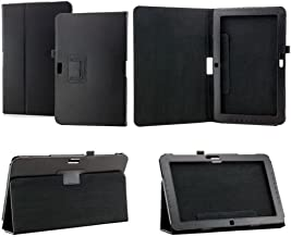 Black Folio PU Leather Stand Case Cover for 11.6