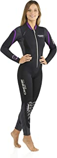 Cressi Lady Front-Zip Full Wetsuit for Water Activities | Bahia & new Bahia Flex