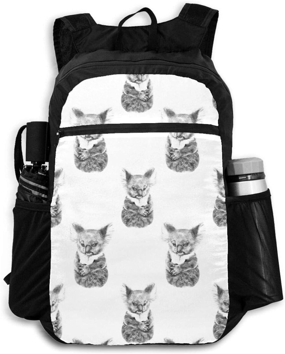 Zolama Baby Koala Backpacks for Price reduction Packable Women Cute Daypack Men Dealing full price reduction