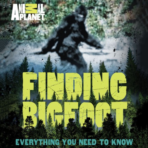 Finding Bigfoot audiobook cover art