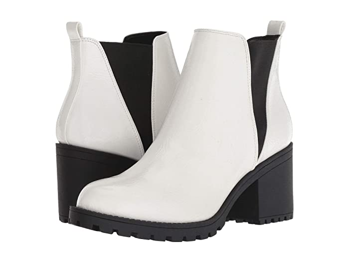 Dirty Laundry  Lisbon Sedona (White Patent) Womens Pull-on Boots