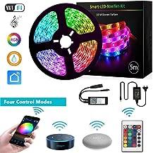 LED Strip Alexa 32.8 ft LED Strip Google Home, LED Strip Dimmer, RGB LED Strip Kit LED..