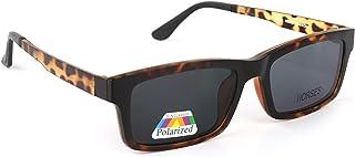 هورسيس نظارة طبية للرجال مع عدسة شمسية , بولورايزد , مقاس 53 - J8054