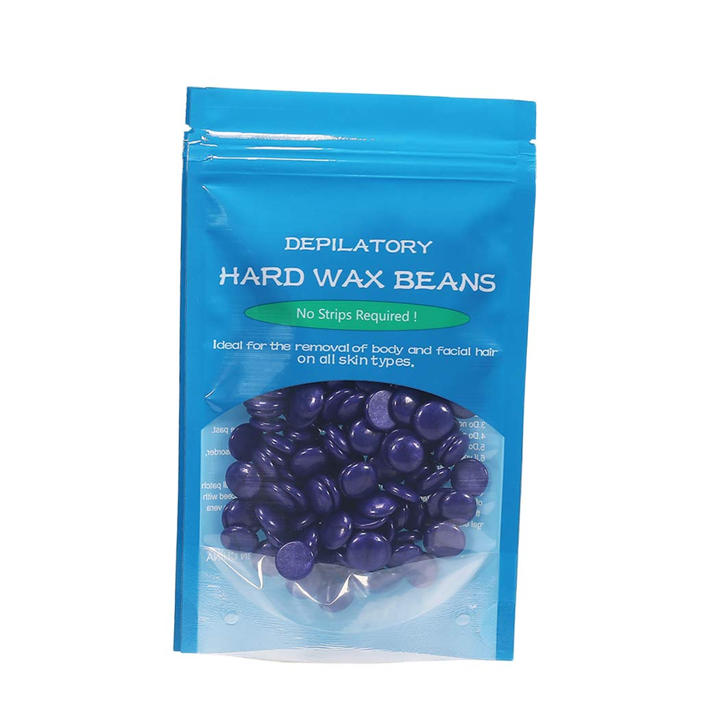 Courier shipping free Baoblaze 50g Depilatory Hard Wax Waxing Beans Pellet Hair Beads SEAL limited product