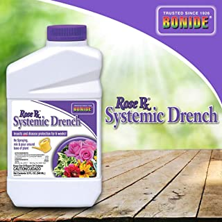 Bonide (BND963) - Rose Rx Systemic Drench Concentrate for Disease and Insect Control, Insecticide (1 qt.)