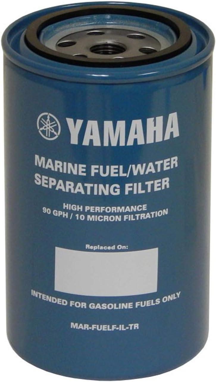 amazon.com: yamaha outboard mar-fuelf-il-tr 10-micron fuel water separating  filter 90gph: automotive  amazon.com