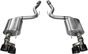 Corsa 14336BLK Axle Back Exhaust with Black Tip (Ford Mustang GT)