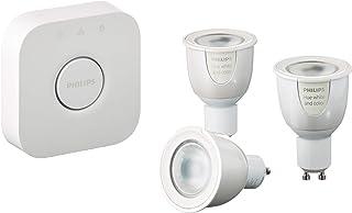 Philips Hue wit en Color Ambiance GU10 LEDlampen, startersset, 3 lampen