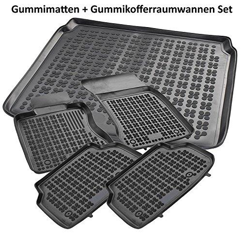 test AME Car Mat Expert 2003 195-teiliges Set: Gummi-Auto-Matte + Gummi-Gepäckträger… Deutschland