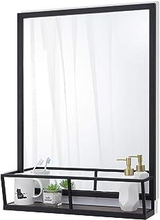 Amazon Com Bathroom Mirror With Shelves