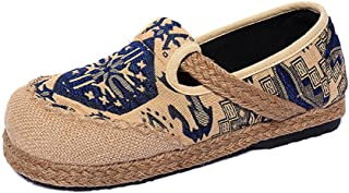 YUBUKE Women's Sneaker Casual Fashion Loafer Flat Canvas Shoes