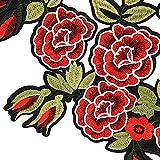 Immagine 2 patch di serpente rose toppa
