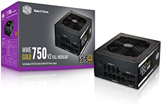 $109 » Cooler Master MWE Gold 750 V2 Fully Modular, 750W, 80+ Gold Efficiency, Quiet HDB Fan, 2 EPS Connectors, High Temperature ...