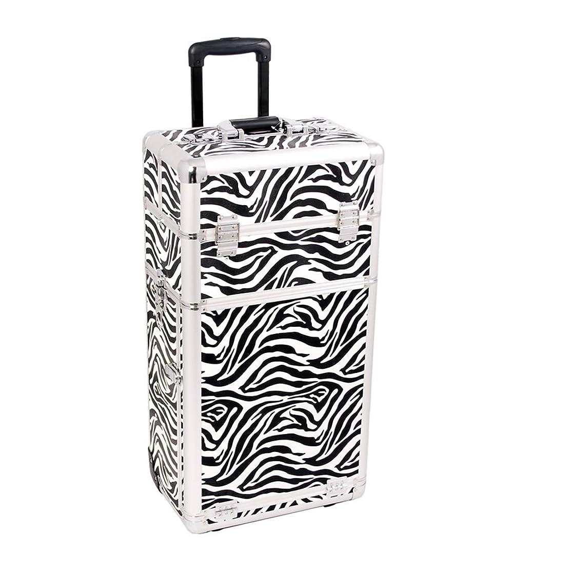 Craft Accents I3162 Zebra Trolley Craft/Quilting Storage Case nzcenqce0