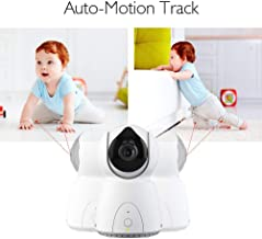"""YISSVIC Touch 5"""" Wireless Digital Video Baby Monitor, Auto-Motion Tracking Baby Camera,"""